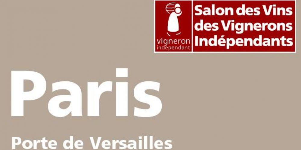 Le domaine Carroy au 40ème Salon des Vignerons indépendants