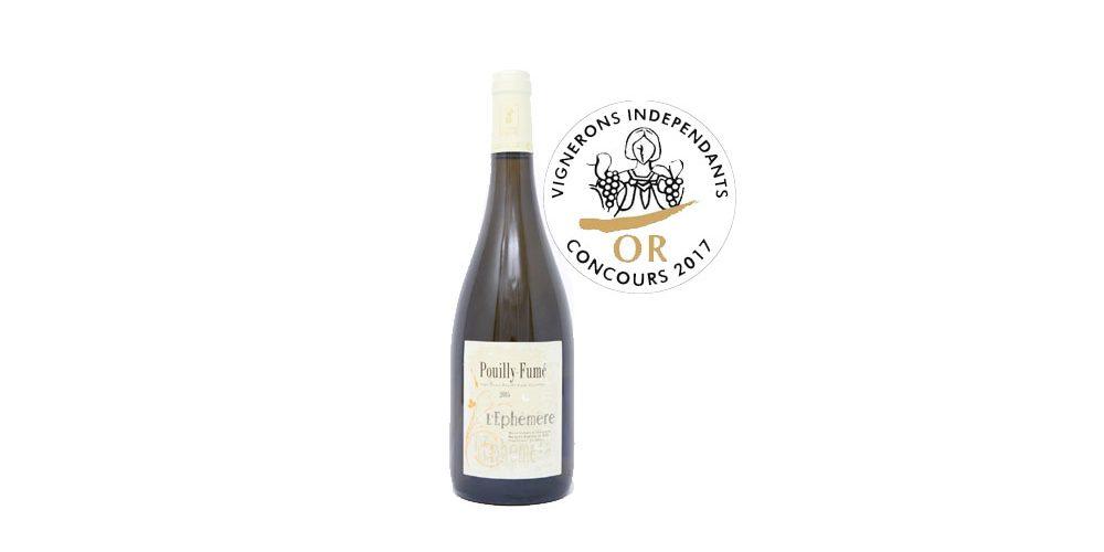 Notre cuvée L'Éphémère 2015 médaille d'or aux vignerons indépendants 2018