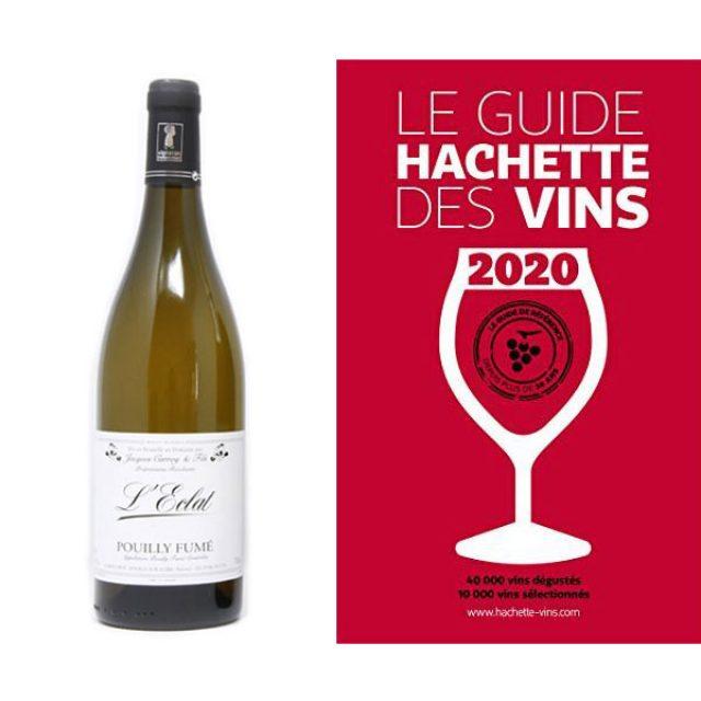 Une étoile au guide Hachette 2020…